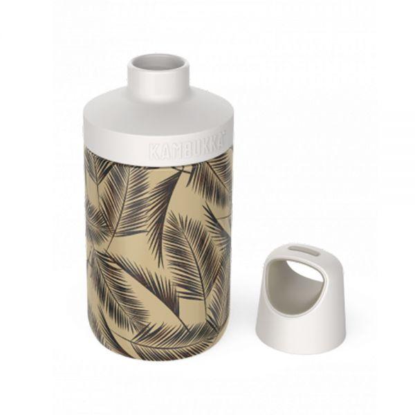 Бутилка за вода двустенна Kambukka Reno Insulated с капак 2 в 1 Twist, 300 мл, орхидеи