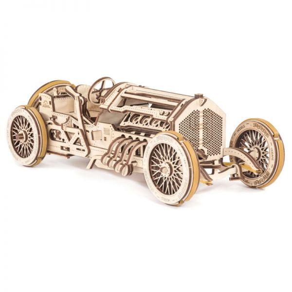 Механичен 3D пъзел - Kола U-9 Grand Prix