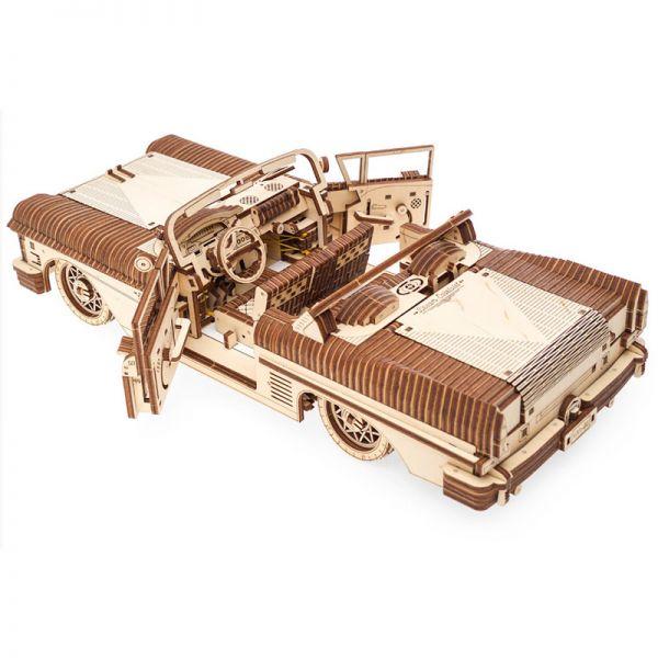 Механичен 3D пъзел - Кола Кабриолет-VM-05