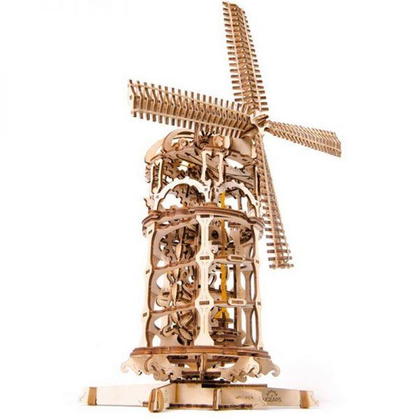 Механичен 3D пъзел - Вятърна Мелница