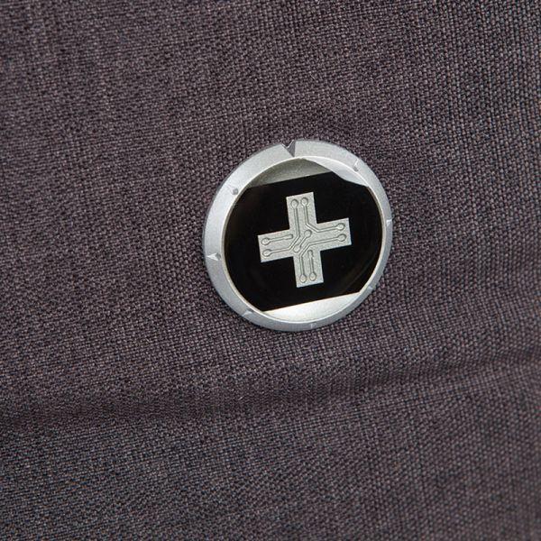 Раница Swissdigital, тъмносиво и черно