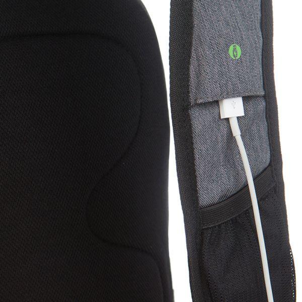 Раница Swissdigital, черно и сиво