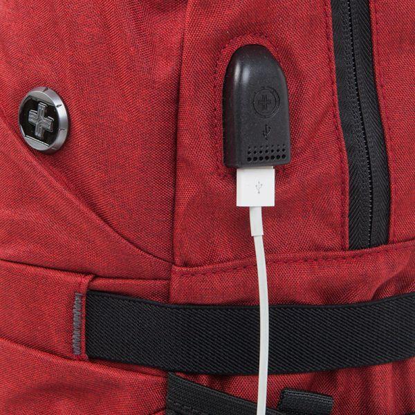 Раница Swissdigital,  червена