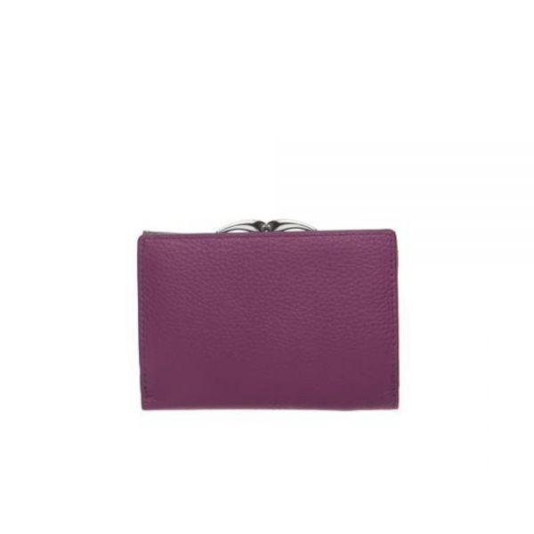 Дамско портмоне ROSSI, Purple Python