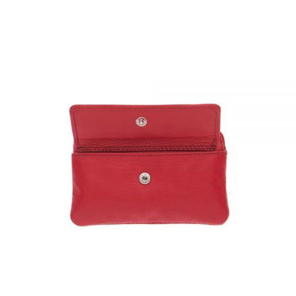 Червенo дамско портмоне ROSSI