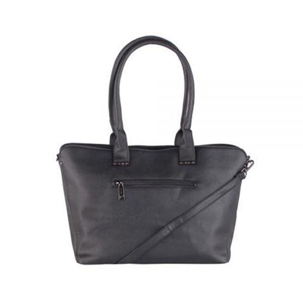 Елегантна дамска чанта Pierre Cardin, тъмнокафявa