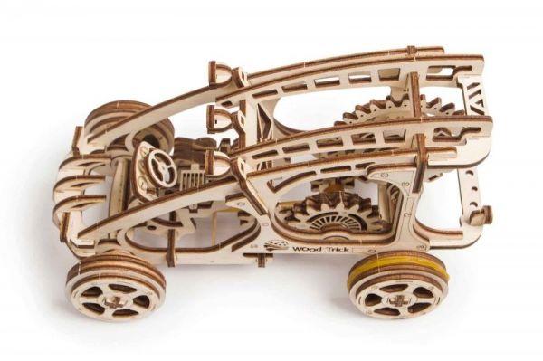 Механичен 3D пъзел Wood Trick - Бъги, 144 части