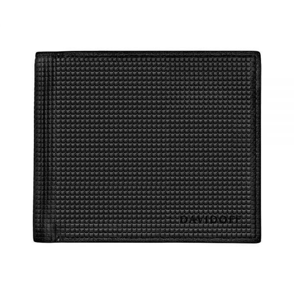 Портфейл DAVIDOFF - Paris, 8 отделения за карти, черен