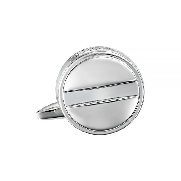 Ръкавели DAVIaРъкавели DAVIDOFF - Essentials Rhodium, кръгли DOFF - Essentials Rhodium, кръгли, сребристи