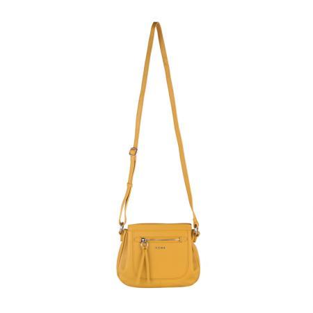 Дамска чанта Rossi - жълта