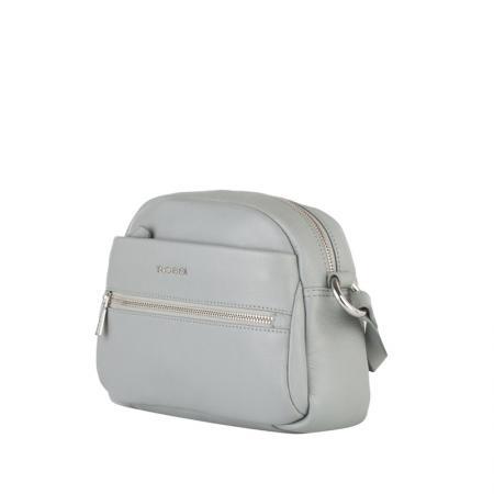 Дамска чанта Rossi, малка, сива