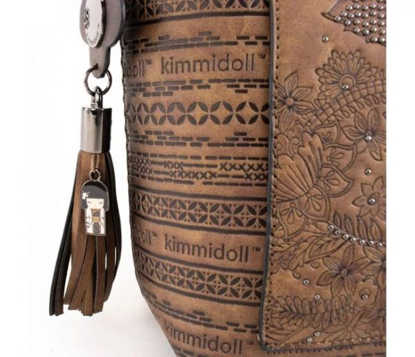 Дамска чанта Kimmidoll - Natsuki, кафява