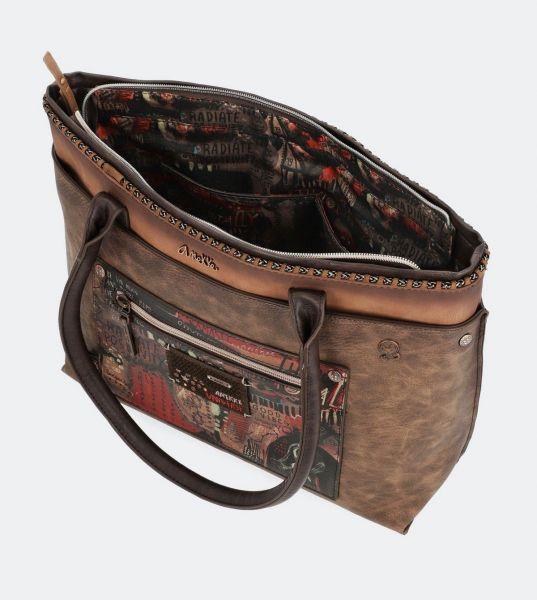 Дамска чанта Kimmidoll - Nature, кафява