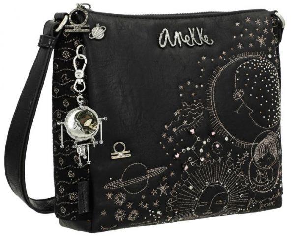 Дамска чанта Anekke - Universe, черна