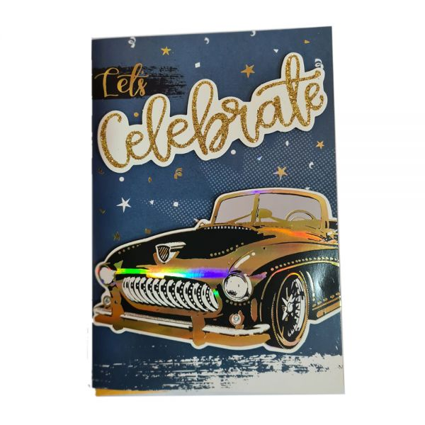 """Поздравителна картичка """"Честит рожден ден"""" - различни видове, с плик"""