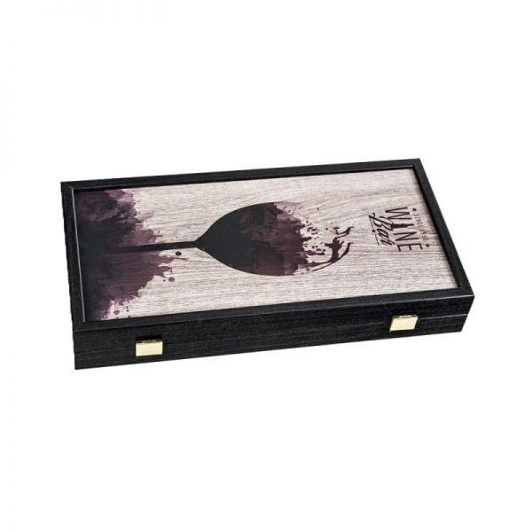 Табла за игра Manopoulos - Wine, 35x30 см