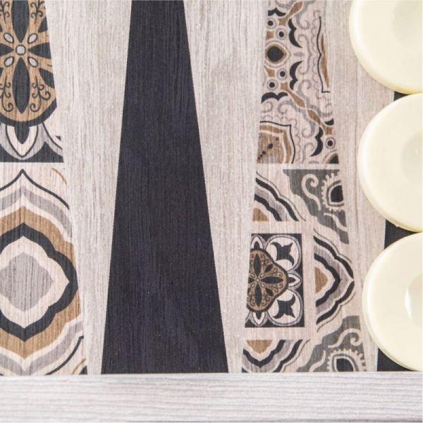 Дървена табла Manopoulos - Марокански мотив, 48x26 см