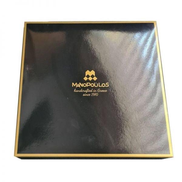 Луксозен шах Manopoulos - Бордо, 20x20 см
