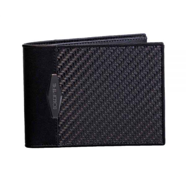 Мъжки портфейл от Карбон Coldfire, GT-Rebel Carbon Fibre Wallet, RFID защита