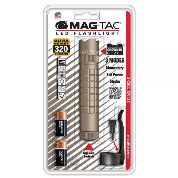 """MAGTAC LED фенер """"Crowned Bezel"""" с две батерии"""
